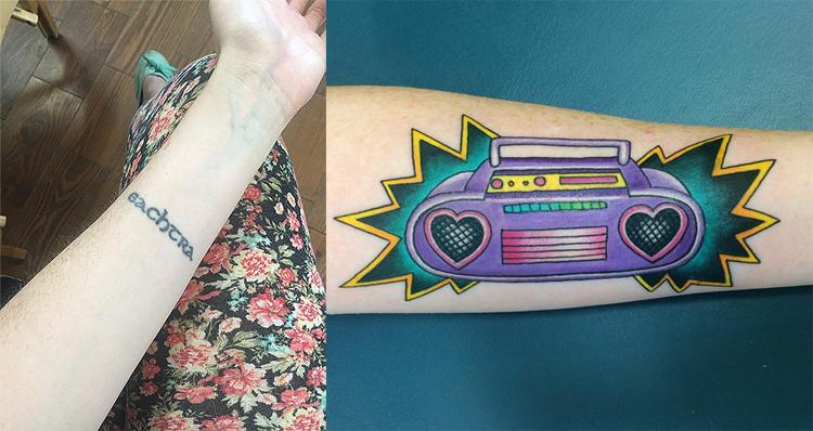 Boombox Tattoo